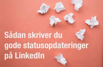linkedin statusopdateringer
